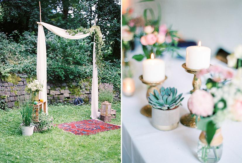 Garten Zeremonie