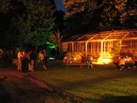 Garten bei Nacht 1