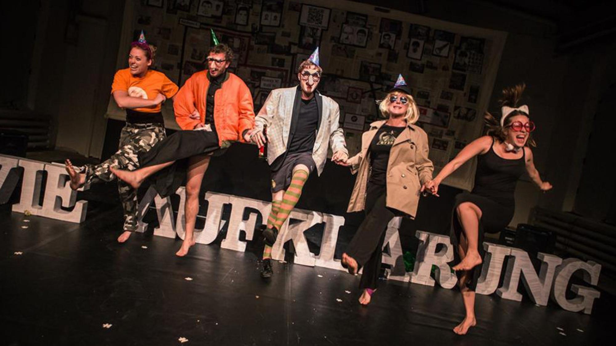 nötheater_AwieAuflärung, Foto: Klaudius Dziuk